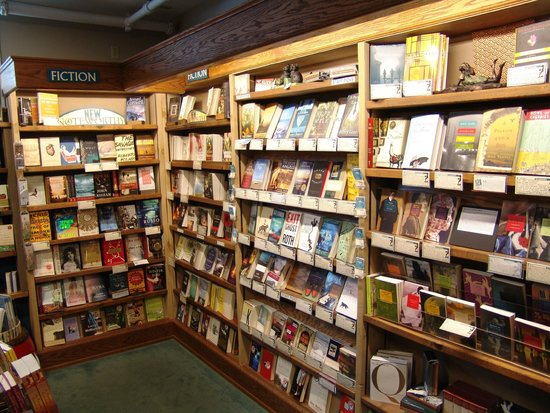 Northshire Bookstore : The fiction wall.