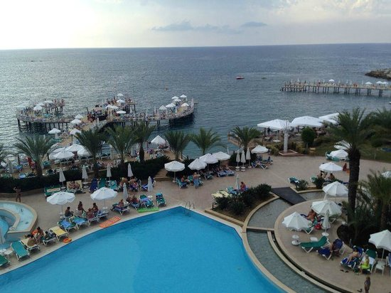 Orange County Resort Hotel Alanya: вид из номера