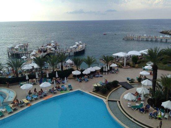 Orange County Resort Hotel Alanya: вид из номера