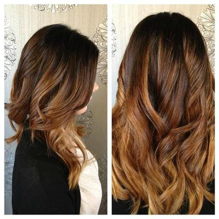 Caramel and mocha ombre hair colour picture of mirror mirror mirror mirror salon spa caramel and mocha ombre hair colour urmus Image collections