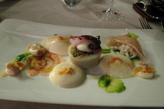 Squid - Picture of Terrazza Bosquet, Sorrento - TripAdvisor