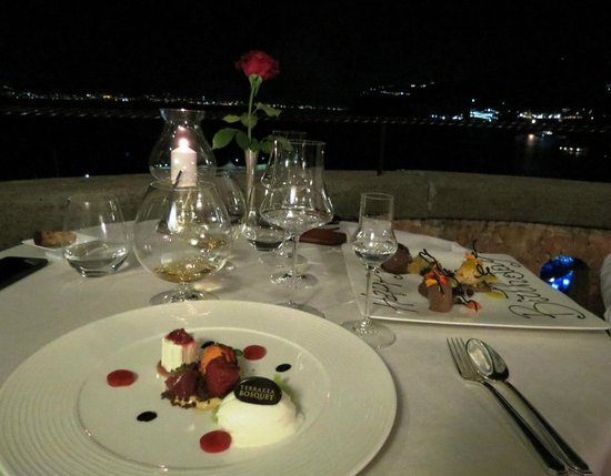 Table setting - Picture of Terrazza Bosquet, Sorrento - TripAdvisor