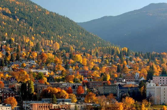 Kootenay Rockies, Kanada: Nelson, BC - Fall (Photo by David Gluns)
