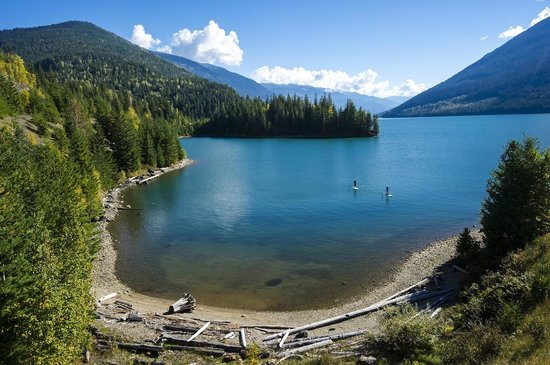 Kootenay Rockies, Canada: Revelstoke, BC - Paddleboarding (Photo by Bruno Long)