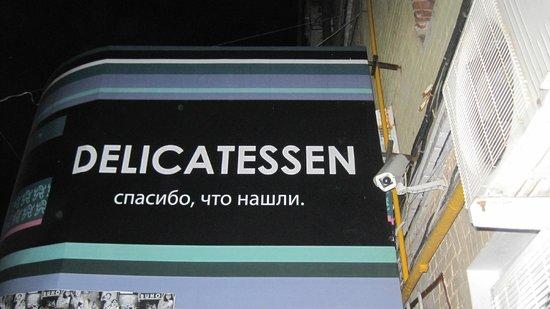 Delicatessen : Lugar escondido