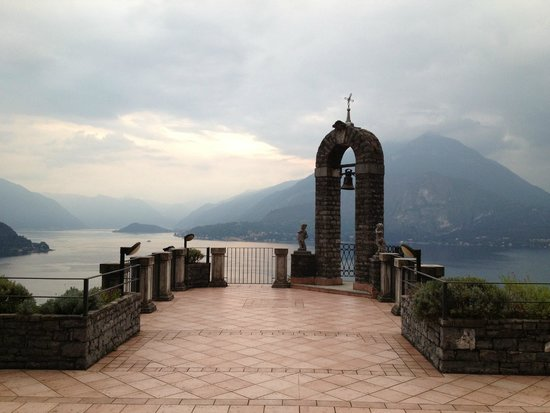 Eremo Gaudio: View of Lake Como from large balcony