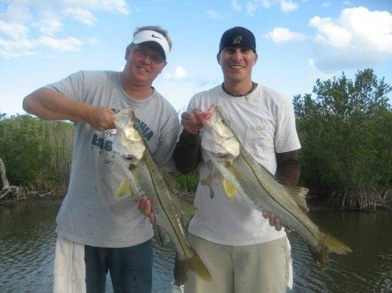 Captain Mike Merritt's Native Guide Service: We caught about (150) Snook this trip.