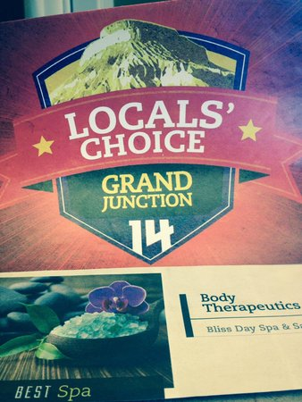 Grand Junction, CO: 2014 & 2015 Best Spa !