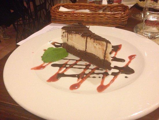 Mandragora: The home made chocolate cake. Heavenly!
