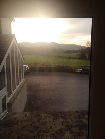 The Craven Arms: Morning view