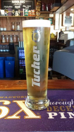 The Victoria Arms: The new perfect pint tucher pilsner 5% abv
