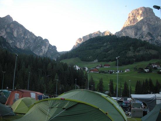 Camping Colfosco: panorama