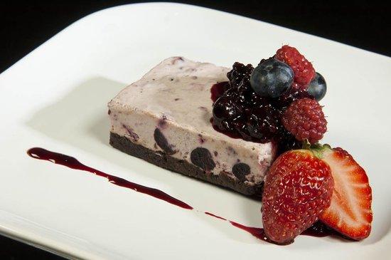 Las Bayas Hotel & Restaurant: Restaurante - Biscoti de Frutos Rojos
