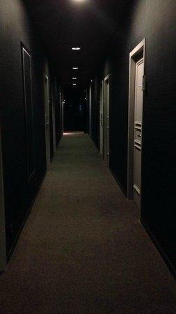 Chiberta et Golf: Couloir vers les chambres