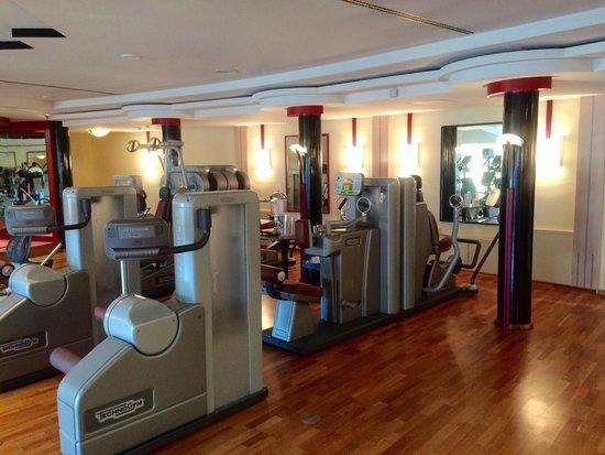 Krumers Alpin Resort & Spa: Gym equipped with TechnoGym