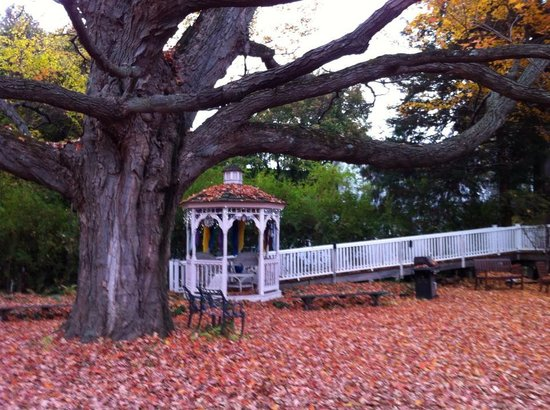 Bellows Falls, Βερμόντ: Gazebo on the property