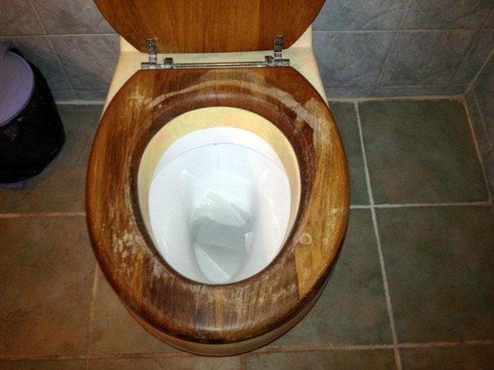 Eden's Holiday Villas: Toilette