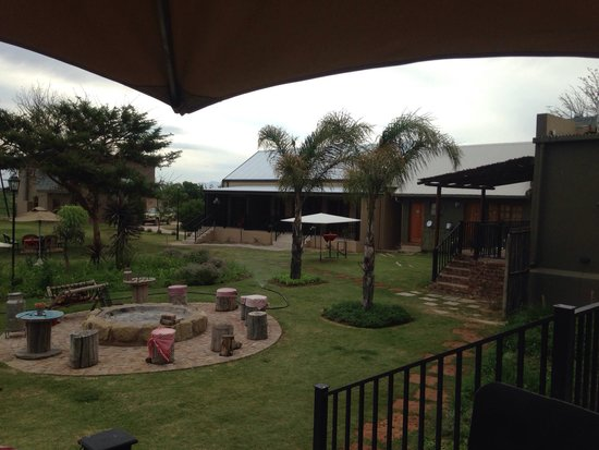 De Zeekoe Guest Farm: Der Garten