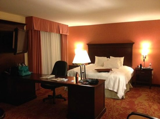 Hampton Inn & Suites Denver Highlands Ranch: King Suite - comfy, clean bed