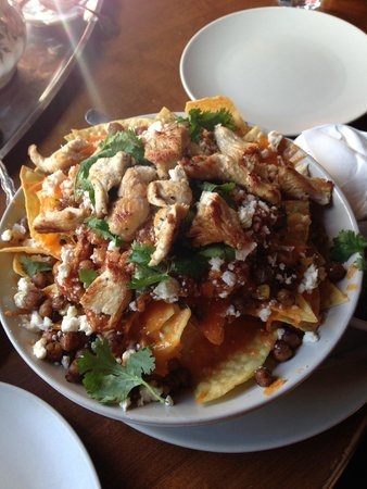 Infinitea: Chicken nachos