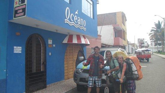 Hospedaje Oceano : Huanchaco Peru