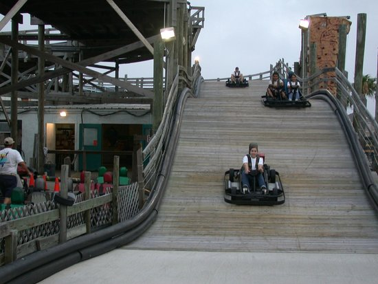 South Padre Island, TX: Roller Coaster Go Karts