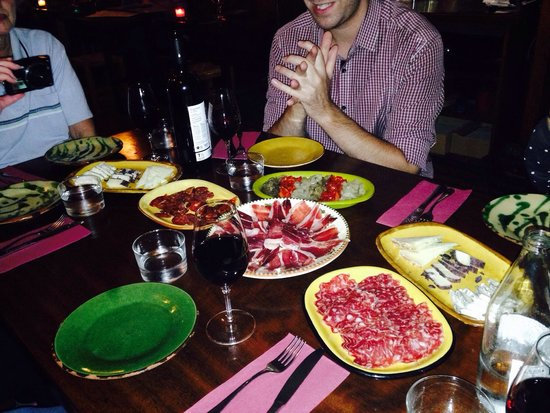 Taste Barcelona  Walking Tours : Meat time! So much more than your average ham....