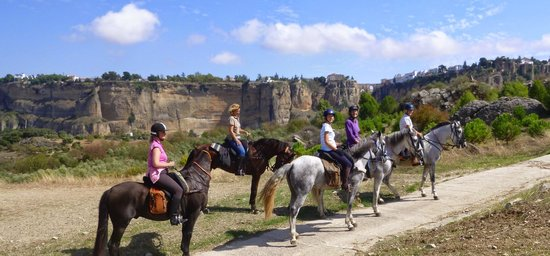 Ride Andalucia : The approach to Ronda
