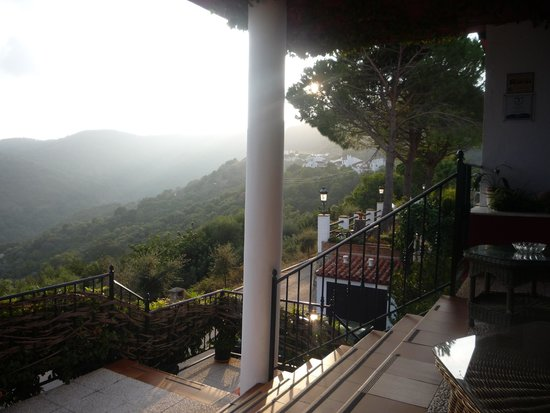 Ride Andalucia: Stunning view from our accomodation in Benarraba