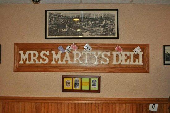 Mrs. Marty's Deli