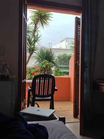 Flisvos Rooms: My balcony.