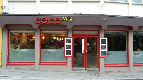 Coco Cafe: New look coco