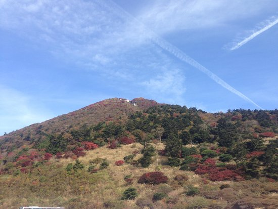Nita Pass Lookout Deck: 20141029 니타토게..묘겐다케산 모습