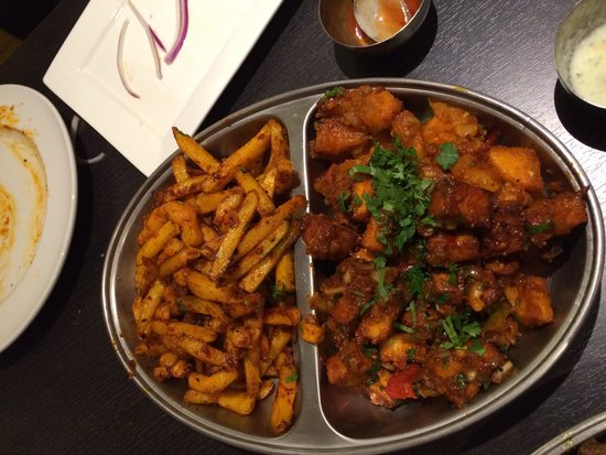 Great chips picture of saab 39 s grill wigston tripadvisor for Cuisine of india wigston