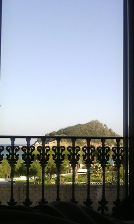 Hotel La Galeria: Vue de mon lit