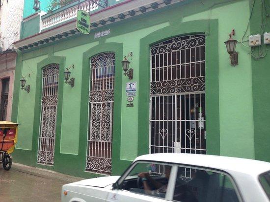 Porta De Entrada Fachada Picture Of Casa Colonial 1715 Havana