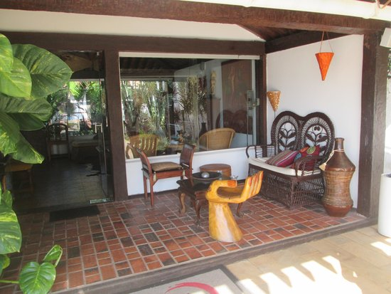 Buzios Arambare Hotel: Espaço arejado e confortável