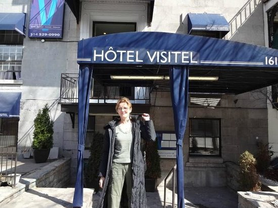 Hotel Visitel: Entrance to the Hotel