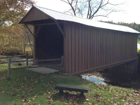 Jack's Creek Covered Bridge: Bridge