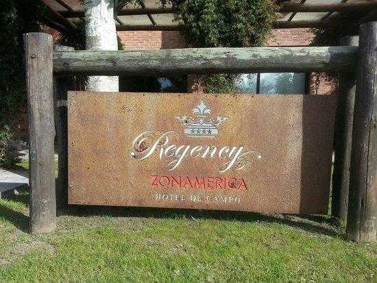 Regency Park Hotel + Spa: Identificação