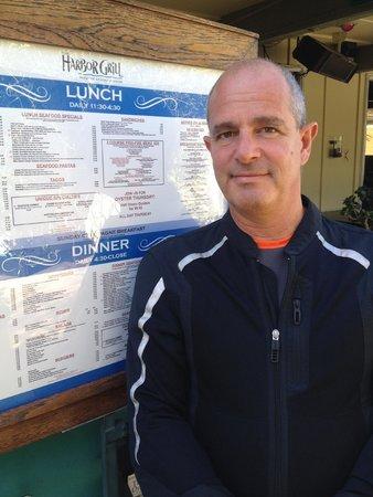 Harbor Grill Restaurant: Lunch in Dana Point