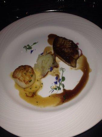Emilies Eld Restaurant & Bar : Kamskjell som forrett