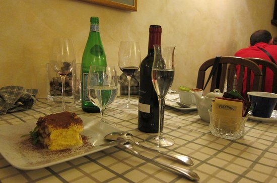 La Perla del Palazzo: perfecrt end to a great meal