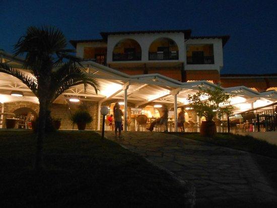 Akrathos Beach Hotel: główny bar