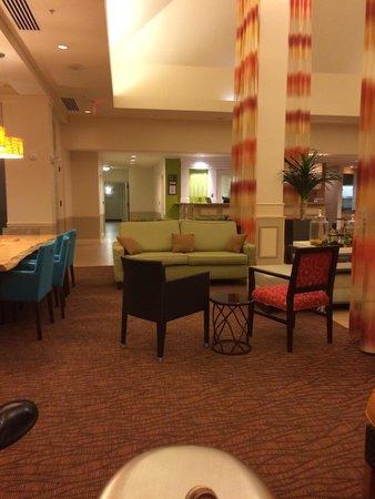 Hilton Garden Inn Charlotte Pineville : Lobby