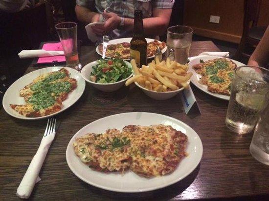 Mrs Parmas: Dinner for 4