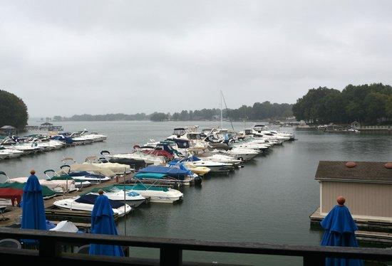 Rusty Rudder: My favorite view. The Harbor