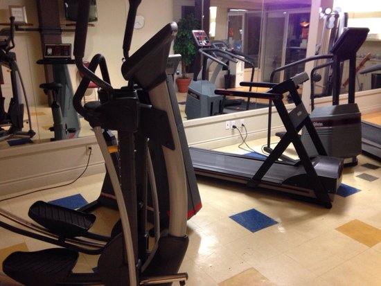 Clarion Hotel : Can't call that fitness equipement sorry