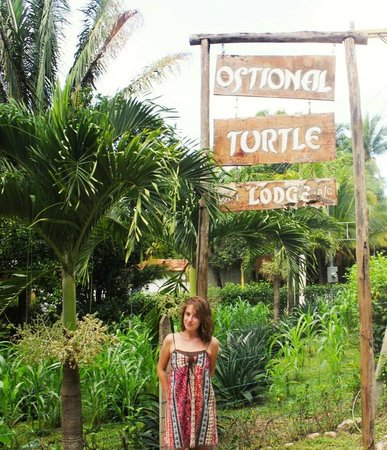 Ostional Turtle Lodge : From the road