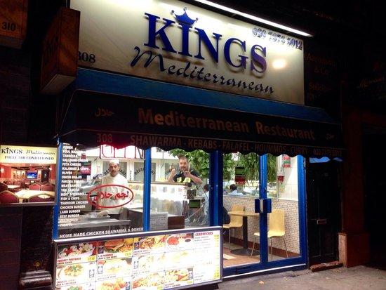Photo of Fast Food Restaurant Kings Kebab House at 308 Earls Court Road, London SW5 9BA, United Kingdom